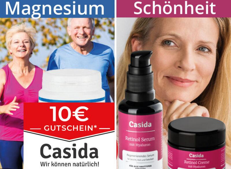 Casida - 10€ Gutschein - Apothekenqualität