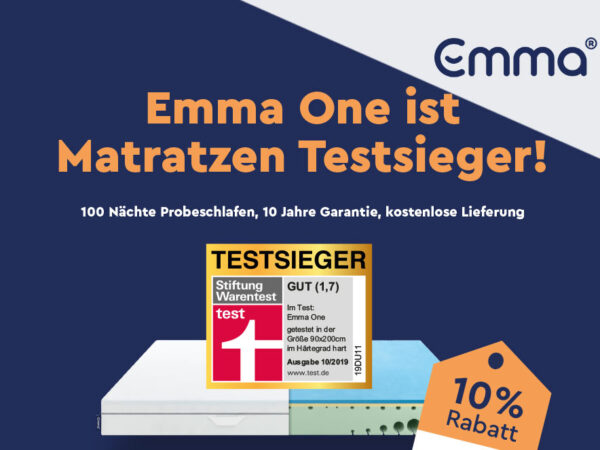 Emma Matratze 10% Coupon